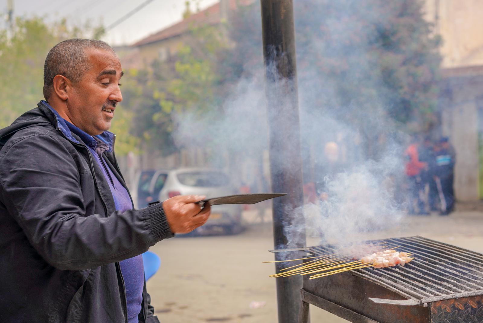 Djemila Meat Skewers, Algeria