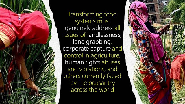 Are we hungry for change for genuinely transforming food systems