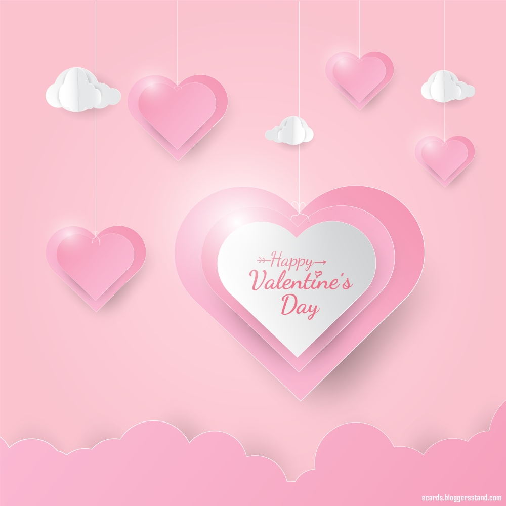 Happy Valentines Day Wallpaper With Heart