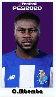 PES 2021 Faces Chancel Mbemba by Shaft