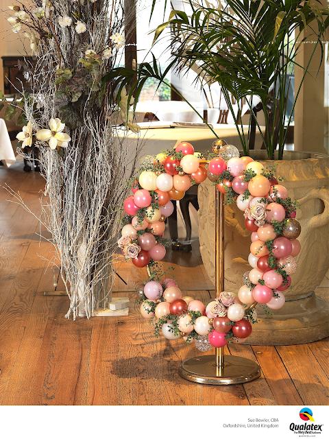 Elegant Wedding Hoop by Sue Bowler