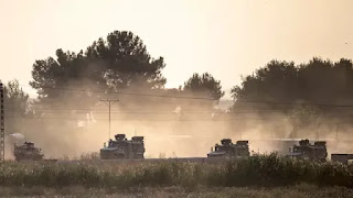 Turki Kerahkan 2.000 Kendaraan Militer ke Suriah