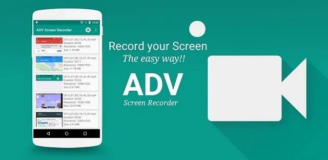 ADV Screen Recorder مٌسجل الشاشة ADV صُمم ليكون غني بالميزات ، بدون أي نوع من القيود