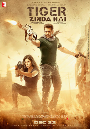 Tiger Zinda Hai (2017) Movie Poster