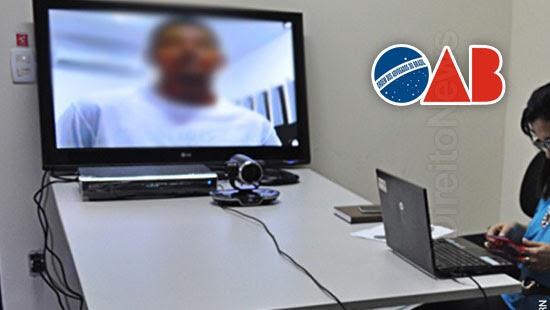 produzir provas audiencia nao virtual oab