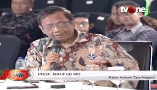 Mahfud MD: Seorang Pemimpin Kalau Sudah Tak Dipercaya Rakyatnya, Maka Mundurlah