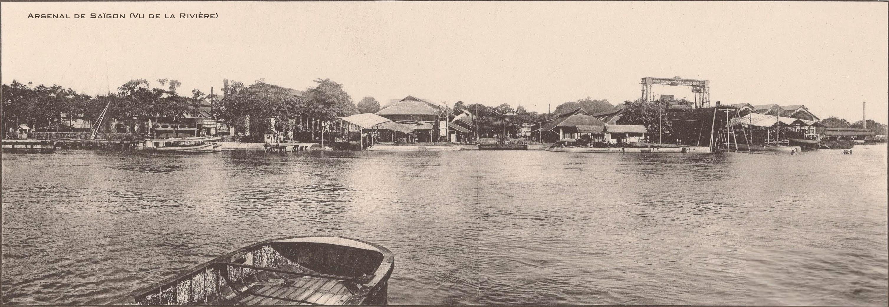 Hình ảnh Việt Nam xưa: Đường phố Sài Gòn cách nay đúng 1 thế kỷ (1921 - 2021)