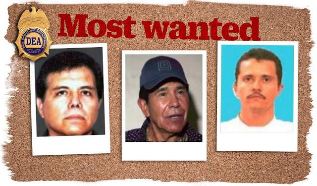 LOS NARCOTRAFICANTES MAS PODEROSOS EN MÉXICO SEGÚN LA DEA