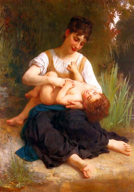 Адольф Вильям Бугро - Счастье материнства (1878)