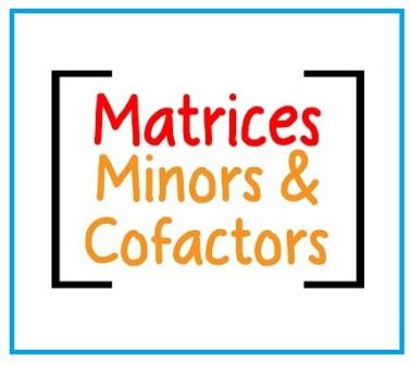 Pengertian Minor, Kofaktor, Matriks Kofaktor, dan Adjoin Matriks