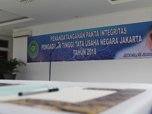 Kembali diingatkan untuk selalu menjaga Integritas (Pakta Integritas 2018)