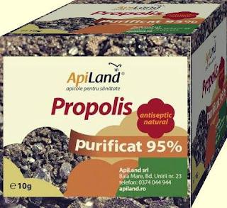 opinii comentarii PROPOLIS PURIFICAT 95% Apiland