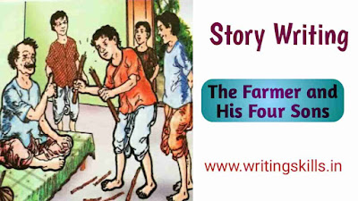 Story The Farmer and His Four Sons, The Farmer and His Three Sons