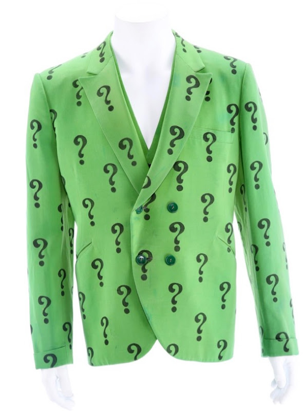 Frank Gorshin Riddler ? suit jacket Batman TV series