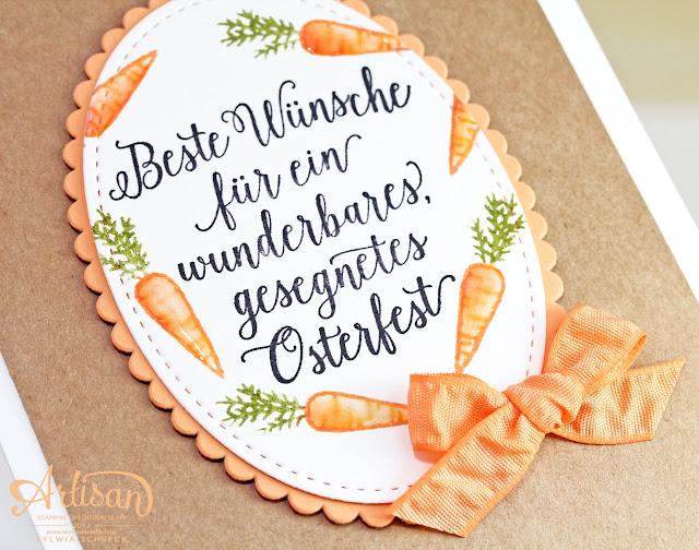 Osterkarte Stampin Up Wunderbare Worte