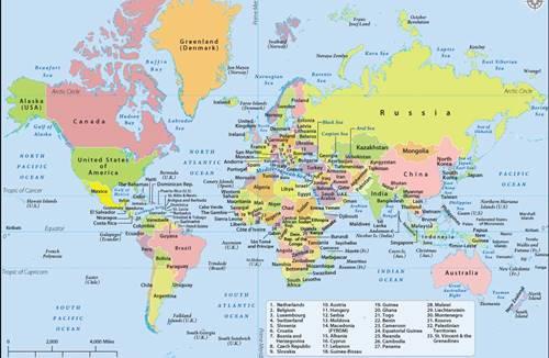 Jenis-Jenis Peta Beserta Contoh, Fungsi, dan Penjelasannya