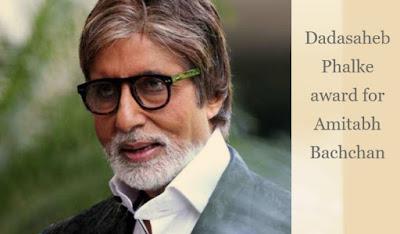 Dadasaheb Phalke award for Amitabh Bachchan: Government