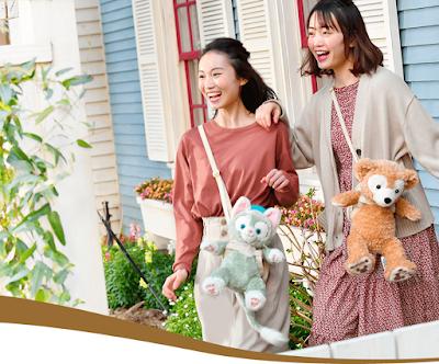 東京迪士尼海洋 Tokyo DisneySEA, Duffy與好友 Carry Me Pochette迷你袋 登場, ShellieMay, Gelatoni, StellaLou, CookieAnn