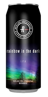 Rainbow in the Dark beer can