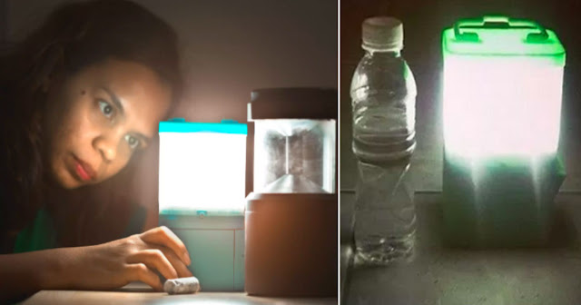 Sustainable Alternative Lighting (SALt) lamp/ABS-CBN