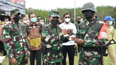 Yonif 123/RW Kembali Akan Ditugaskan Menembus Papua