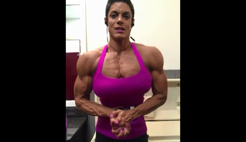 Video Girl bodybuilder Build muscle, Training Exercises You Need to Know