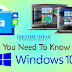 Things You Need To Know About Windows 10