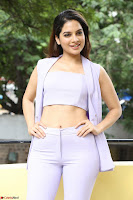 Tanya Hope in Crop top and Trousers Beautiful Pics at her Interview 13 7 2017 ~  Exclusive Celebrities Galleries 064.JPG
