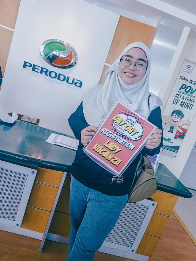 UFIRST Perodua Passport Day Out Ladies Edition Di X Park Sendayan