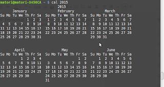 Linux : Cara Menampilkan Kalender