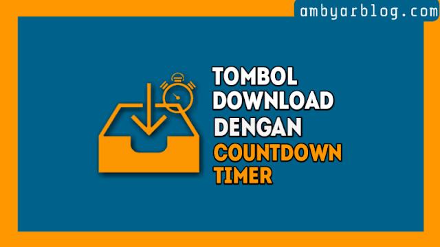 Cara Membuat Tombol Download dengan Countdown Timer