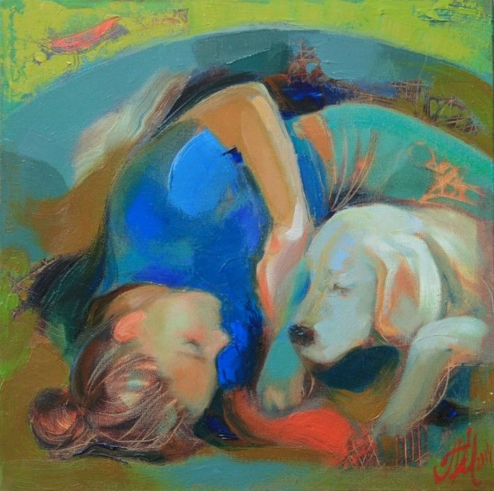 Украинский художник. Мирослава Перевальская