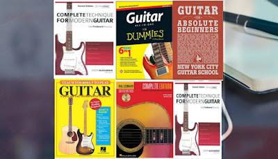 أفضل 5 كتب لتعلم الجيتار