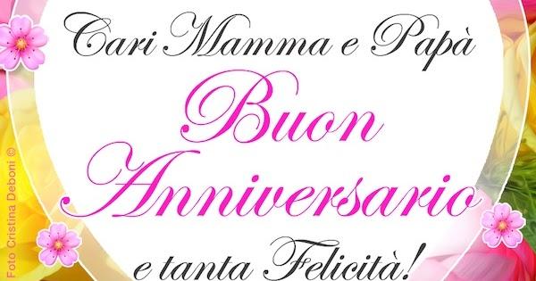 Buon Anniversario Di Matrimonio Mamma E Papa.Cdb Cartoline Per Tutti I Gusti Cartolina Cari Mamma E