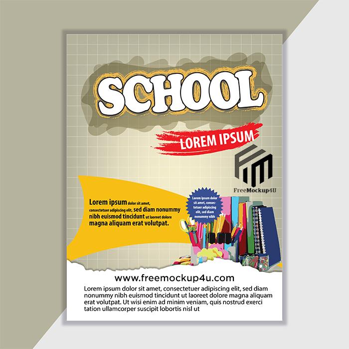 Back To School Poster Design Free Dwonload