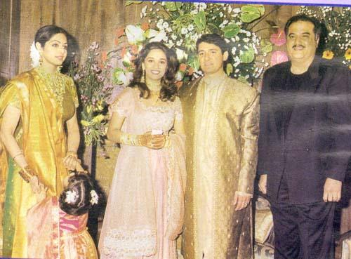madhuri dixit wedding album |Wedding Pictures