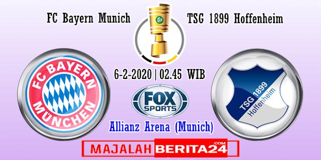Prediksi Bayern Munich vs TSG Hoffenheim — 6 Februari 2020