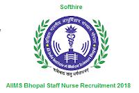 AIIMS Bhopal Staff Nurse Recruitment