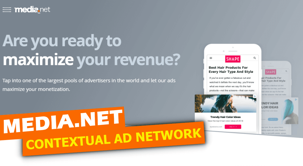 Media.net review yahoo and Bong Network