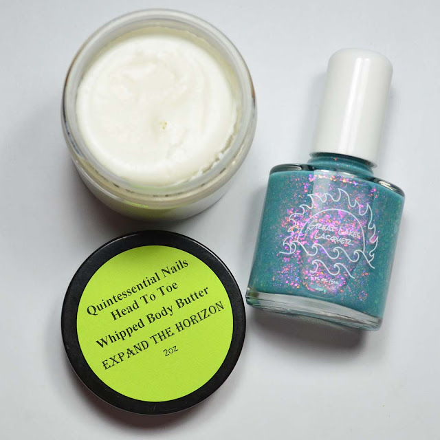 nail polish and whipped body butter duo