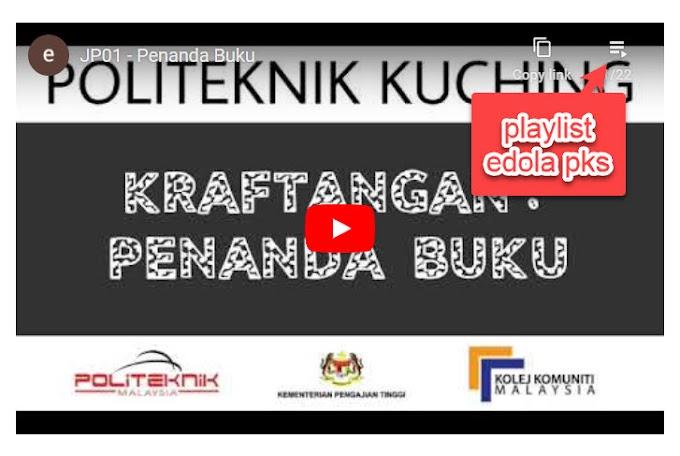 Playlist Video PdP eDOLA 2020