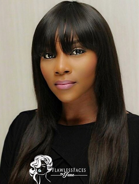 genevieve nnaji looking