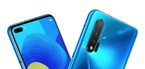 Huawei Nova 6 powered by HiSilicon Kirin 990 Octa-core processor dual front camera 6.57 inches