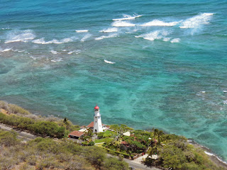 What you'll see looking down from the Diamond Head hike
