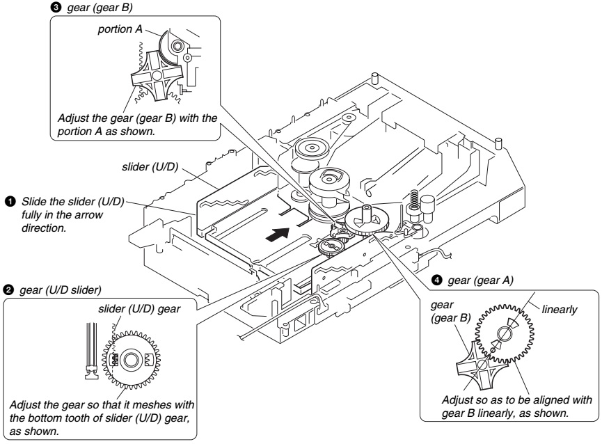 Master Electronics Repair !: DISC CHANGER DISASSEMBLE