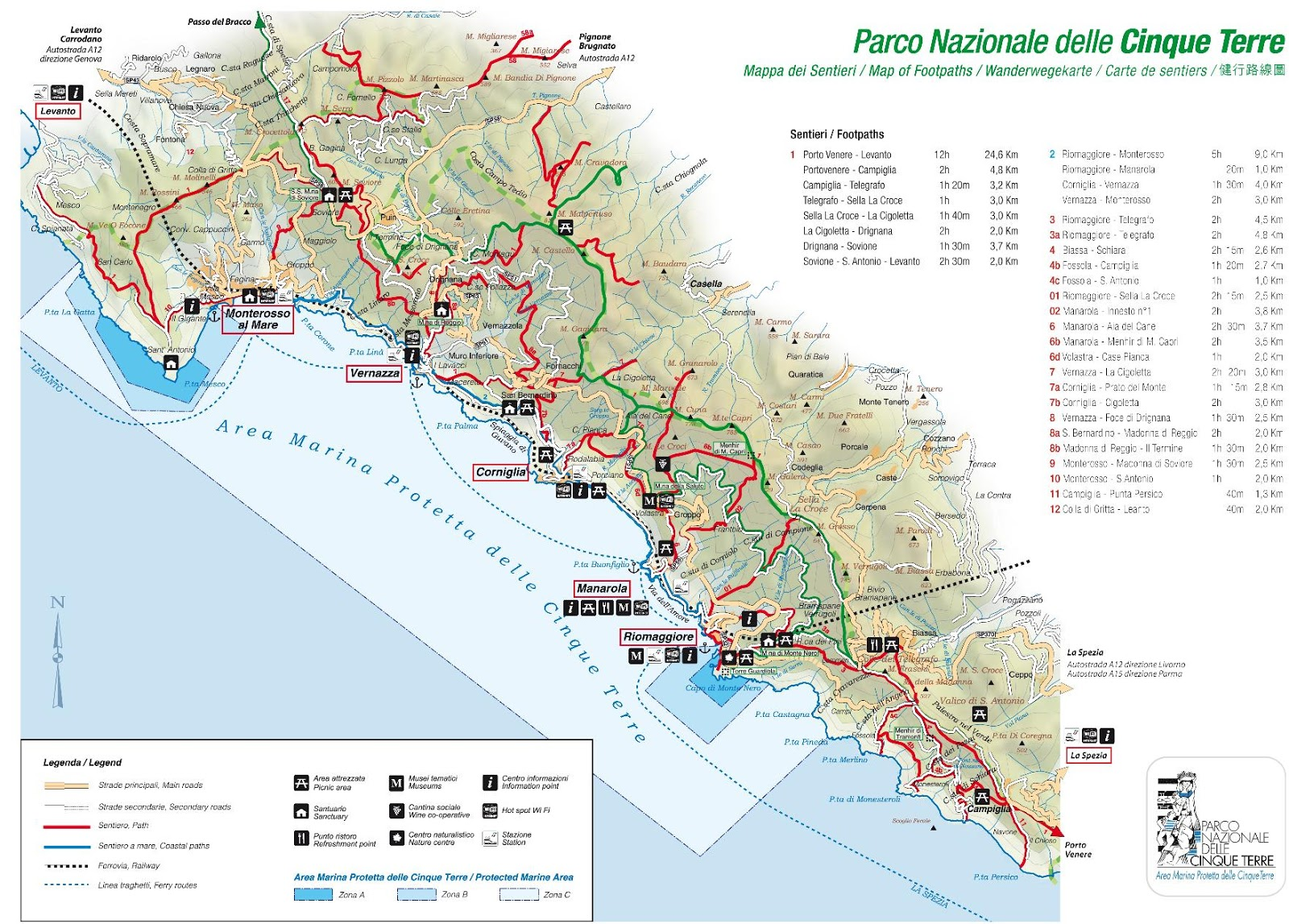 A Path To Lunch Cinque Terre Guide 2019