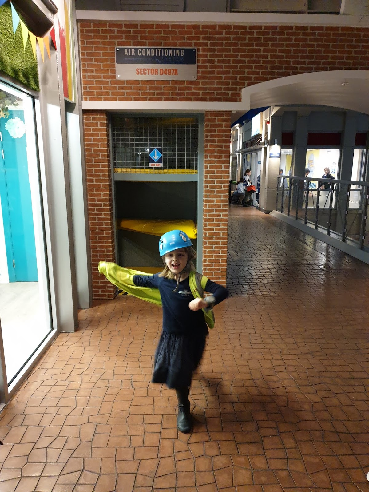 kidzania air ducts