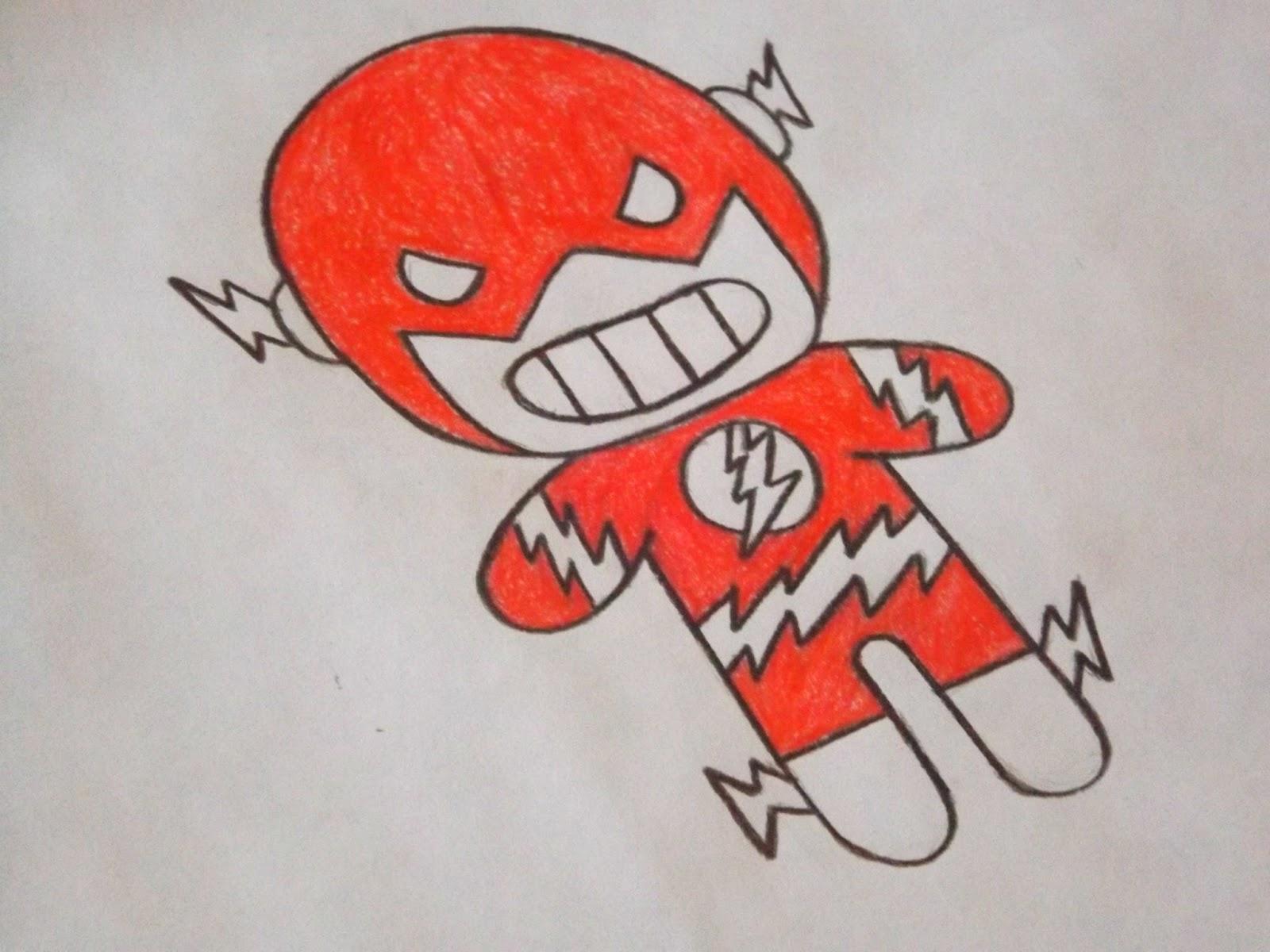 Fotografei Desenhando Super Herois