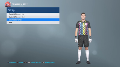 PES 2019 PS4 Classic Option File UEFA Euro 1992 by Georgi Todorov