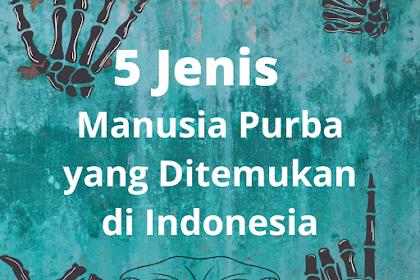 5 Jenis Manusia Purba yang Ditemukan di Indonesia